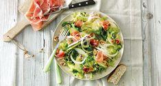Salade van venkel, appel, walnoten en luxe ham Classic Salad, Salad Supreme Recipe, Chicken Caesar Salad, Bbc Good Food Recipes, Main Meals, Food Network Recipes, Salad Recipes, Chicken Recipes, Salads