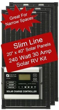Airstream Solar RV Kits - Zamp Solar