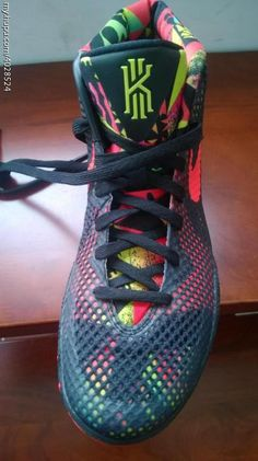 Nike Kyrie 1 Black/Red (2)