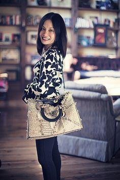 Christian Dior Tweed Diorrissimo Bag