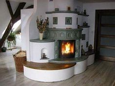 Rocket Mass Heater, Mud Hut, Recycled House, Interior And Exterior, Interior Design, Earth Homes, Rocket Stoves, Tiny Spaces, Rustic Kitchen
