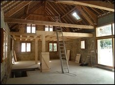 Looking for a Interieur Maison Grange. We have Interieur Maison Grange and the other about Maison Interieur it free. Warehouse Home, Garage Loft, Barn Renovation, Lofts, Future House, Home Fashion, Architecture Design, Home Improvement, House Plans