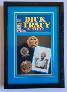 Custom framed Dick T