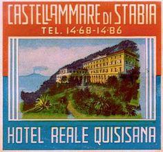 Hotel Reale Quisisana, Castellammare di Stabia, Italy