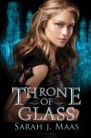 Throne of Glass by Sarah J. Maas.  After she has served a year of hard labor in the salt mines of Endovier for her crimes, Crown Prince Dorian offers eighteen-year-old assassin Celaena Sardothien her freedom on the condition that she act as his champion in a competition to find a new royal assassin.