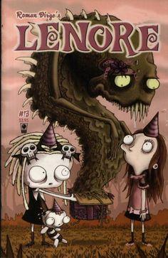 cute little dead girl | Lenore #1 - The Cute Little Dead Girl (Issue)