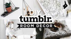 DIY Tumblr Inspired Room Decor 💡✂️ 🔨 (2016) - Minimal & Easy // Imdrewscott