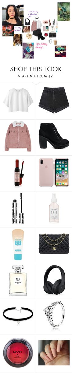 """My Bad girl (Bts//Park Jimin/Jimin)"" by parksora-967 ❤ liked on Polyvore featuring 3.1 Phillip Lim, Givenchy, Maybelline, Chanel, Beats by Dr. Dre, Pandora, NYX and Kenzo"