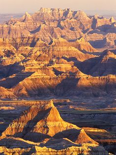Badlands National Park, Dakota