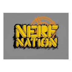 Shop Nerf Nation Poster created by Nerf. Nerf Birthday Party, Nerf Party, Boy Birthday, Glossier You, War Quotes, Gifts For Brother, Sports Activities, Wall Storage, Corner Designs