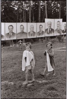 Pinoeer camp, near Moscow, USSR, 1954