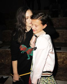 On a Scale of 1 to 11, How Cute Is Winona Ryder and Millie Bobby Brown's Friendship?