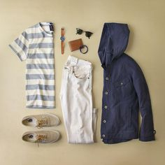 Outfit grid - Summer holiday