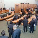 Por Denise Caputo  ACâmara Legislativa do Distrito Federal aprovou em segundo turno, por unanimidade, nesta terça-feira (19) o projeto de Lei Orçamentária Anual para 2018 (PL nº 1.744/2017).Leia mais...