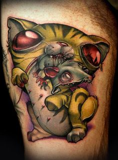 Kelly Doty - out of Ink & Dagger in GA 'Dat color!!