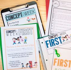 The Concept of the Week Bundle has several small activities for each concept.  This provides you the flexibility to use them all in one session or have them be 'warm up' work for students so they can get reinforcement and practice of the concepts each session. 💪⁣  -⁣  I have been sharing the interactive books from the sets with our special education teachers for them to use with students as well!⁣    -