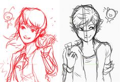 Miraculous Tales Of Ladybug And Cat Noir - Marinette, Tikki, Adrien, Plagg