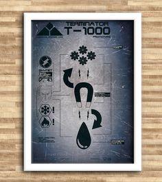 Terminator: T-1000 #dblackhand #studio2.0 #platamala #poster #vector #terminator #design #graphic #T-1000