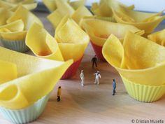 #Lasagne #CupCake #food #cooking #lasagna #pasta #dough #miniatures #preiser