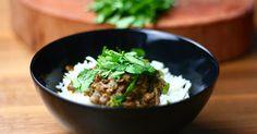 Dieses Linsen Dal mit Basmati ist ein gesunder, wie würzig-leckerer Klassiker der vegetarischen Küche Indiens.