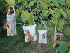Wishing Pockets handmade gift for someone by SweetLibertyBelle