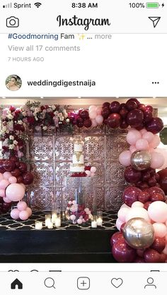 Weddings Fashion Love Couture: Christening styling fit for a princess! Balloon Arch, Balloon Garland, Balloon Decorations, Birthday Decorations, Wedding Decorations, Wedding Balloons, Birthday Balloons, 21st Birthday, Birthday Parties