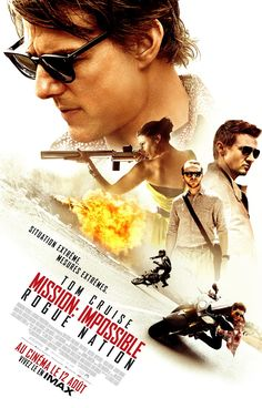 Mission: Impossible - Rogue Nation est un film de Christopher McQuarrie avec Tom Cruise, Jeremy Renner. Synopsis : L'équipe IMF (Impossible Mission Force) est dissoute et Ethan Hunt se retrouve désormais isolé,alors que le groupe doit affronter un réseau d'ag