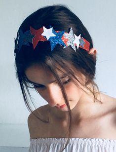 Sparkly star hairbands