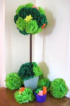 gummy bear tree for wonka party