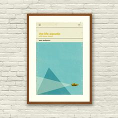 California-based Concepción Studios creates minimalist pop culture art prints that are reminiscent of old book covers.  You can get these cool posters on Etsy.  More pop culture via Fast Company