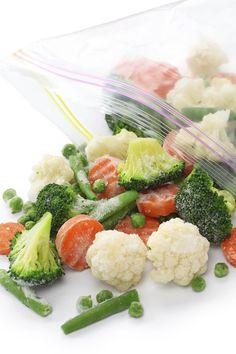 Empty the fridge - 4 stappen om groenten te blancheren en in te vriezen voor later