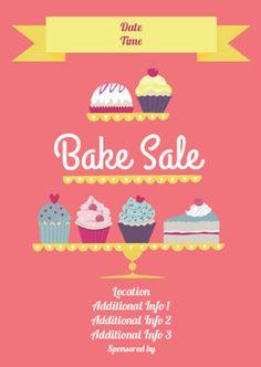 bake sale flyer template word koni polycode co
