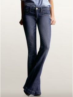 Long & Lean Jeans - GAP. I have one pair and I LOVE them.