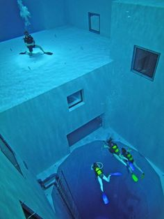 This is the worlds deepest swimming pool in Brussels, Belgium and ONE DAY, I will swim this pool!