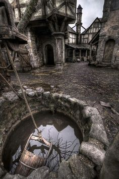 This abandoned medieval village or town is apparently a real place in Scotland. Also a real place I want to live for two years. Abandoned Buildings, Abandoned Mansions, Abandoned Castles, Abandoned Film, Abandoned Places In The Uk, Old Abandoned Houses, Oh The Places You'll Go, Places To Visit, Haunted Places