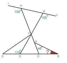 Geometry Problem on Angles and Lines Problem Solving - Basic: Do The Angle Chasing Dance - Shãmïm Hàsáñ | Brilliant