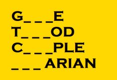 A 3-letter-word has been taken out of each of the following words. Can you figure it out?