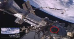 ISS Live Feed Camera follows White Orb floating over the ISS |UFO Sightings Hotspot