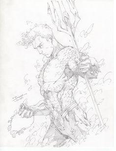 Aquaman by Brett Booth