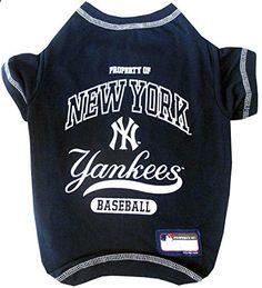 Pets First MLB New York Yankees Dog Tee Shirt Medium. More descripiton on the website.