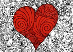 Red red Heart Greeting Card for Sale by Cynthia Cabello Valentines Day Quotes Images, Valentine's Day Quotes, White Envelopes, Fine Art America, Red And White, Greeting Cards, Ink, Metal, Artwork