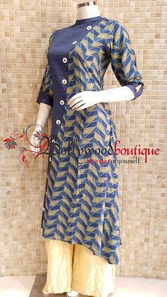 Designer Kurti 77 Fabric : Cotton Reyon. Color : Coral Blue. Style : Designer Long Kurti. Product Details : Designer long kurti ideal for everyday use as well as small get together. Digital printed designer long kurti in divided tapper pattern. Price : Rs: 1300 / –