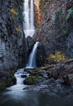 Lower Mystic Falls | by Mr. Jalapeño Lower Mystic Falls  Located near Ophir, Colorado, these falls are tough (and wet) to get to, but well worth the effort!