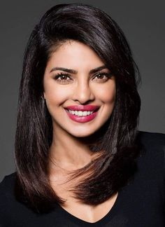 I would cast Priyanka Chopra with lighter skin, blonde hair and blue eyes as Leslie Moore from Anne's House of Dreams. Bob Hairstyles, Straight Hairstyles, Auburn Hair With Highlights, Maroon Hair, Color Rubio, Synthetic Lace Front Wigs, Beautiful Indian Actress, Indian Beauty, Makeup Looks