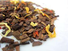 caramel herb mate tea