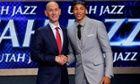cool Australian Dante Exum signs lucrative first Utah Jazz contract