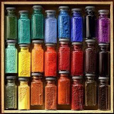 I need pigments like these!