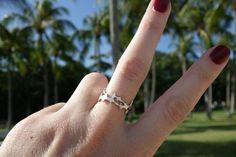 Hammerhead sharks ring ocean jewellery by by SophieJadeJewellery