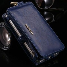 Vintage 2 in 1 Leather Case Wallet for Samsung Galaxy Note 5 S6 Edge