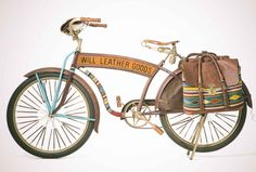 Cinco De Mayo Oaxacan Bicycle from Will Leather Goods NYC SoHo Store